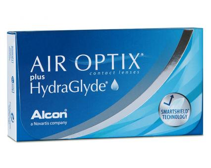 Air Optix plus HydraGlyde 6er-Box (+ 1 Linse extra)