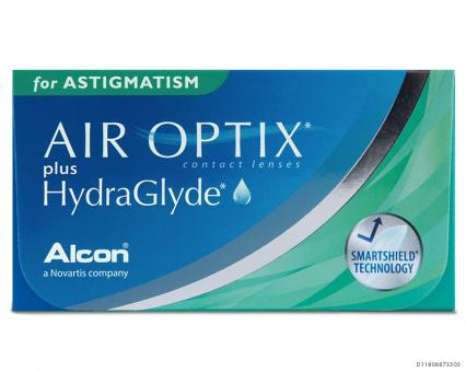 Air Optix Plus HydraGlyde for Astigmatism 6er-Box (+ 1 Linse extra)