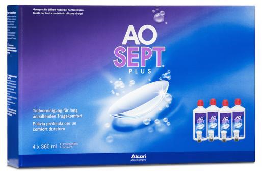AOSEPT PLUS 4x360 ml