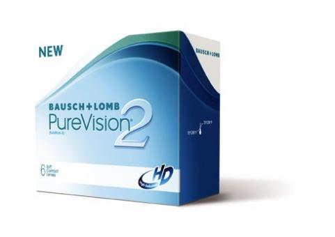 PureVision 2 HD 6er-Box (+ 1 Linse extra)