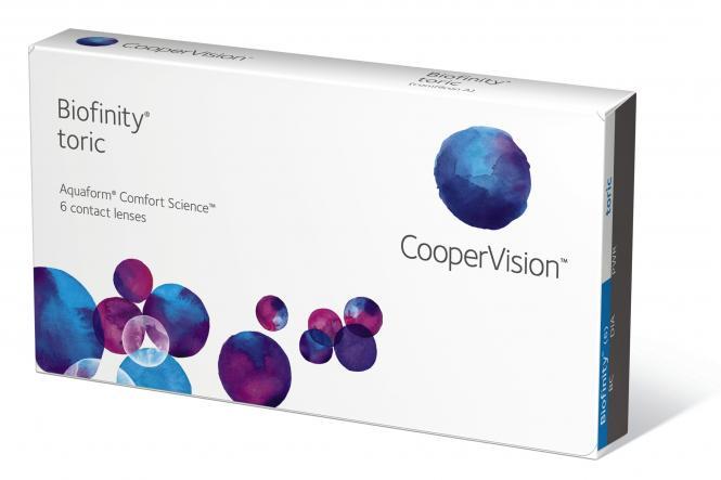 Biofinity Toric 6er-Box (+ 1 Linse extra)