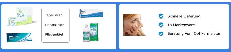 Kontaktlinsen online bestellen